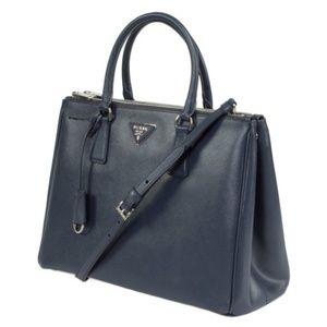 73001dba8e92 Prada Bags | Saffiano Lux Tote Bag Dark Navy Baltico | Poshmark